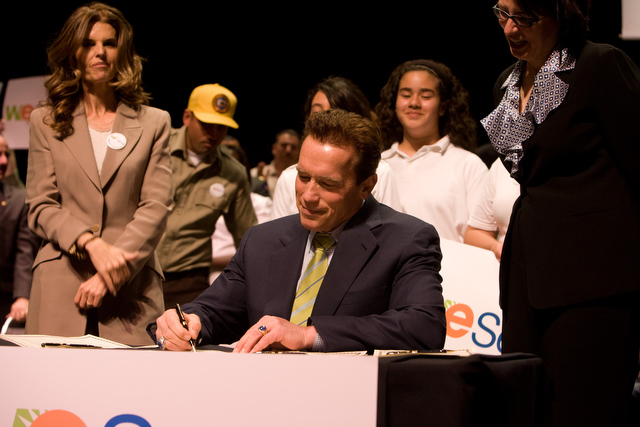 Governor Schwarzenegger at California Volunteers Event 2