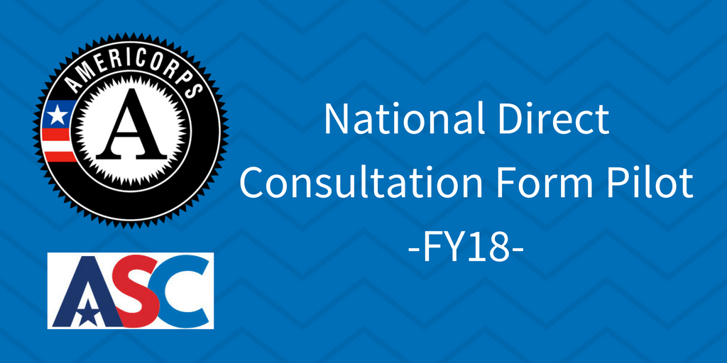 National Direct Consultation Form Pilot