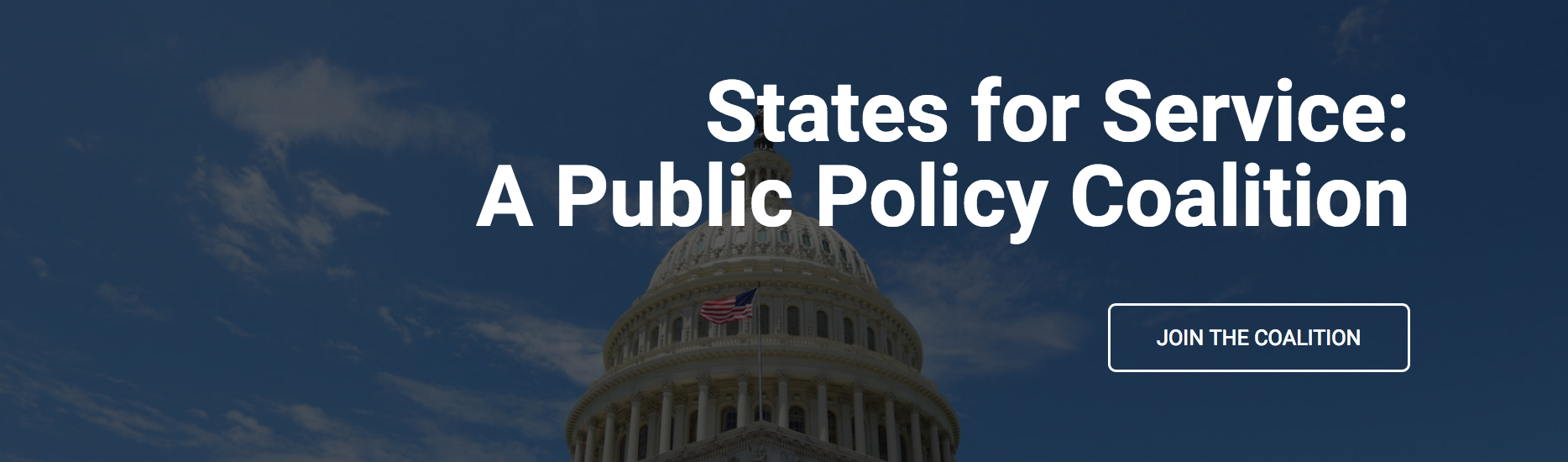 States for Service: A Public Policy Coalition